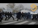 RAW: Muslim Migrants Riot in Paris, France