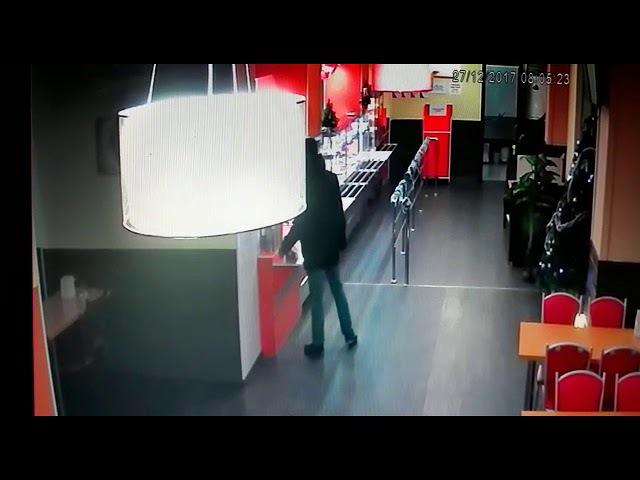 Украл ящик с пожертвованиями. В Астане разыскивают мужчину, попавшего на видео