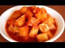 Cubed radish kimchi kkakdugi 깍두기