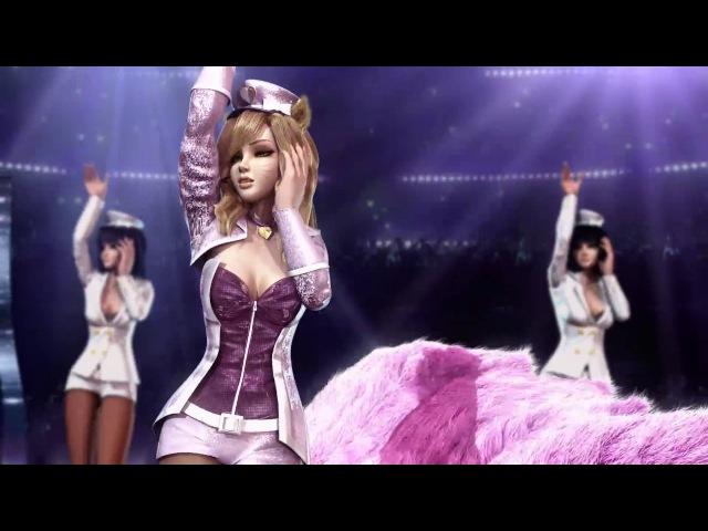 League of Legends Cinematic - Popstar Ahri on Stage (Fan video)