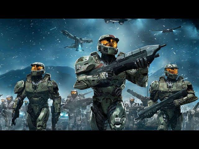 Фантастический фильм. Космическая война. Игрофильм Halo Wars: Definitive Edition