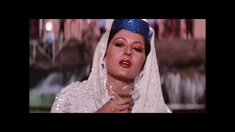 Raat Bhar Jaam Se [Full Video Song] (HQ) With Lyrics - Tridev