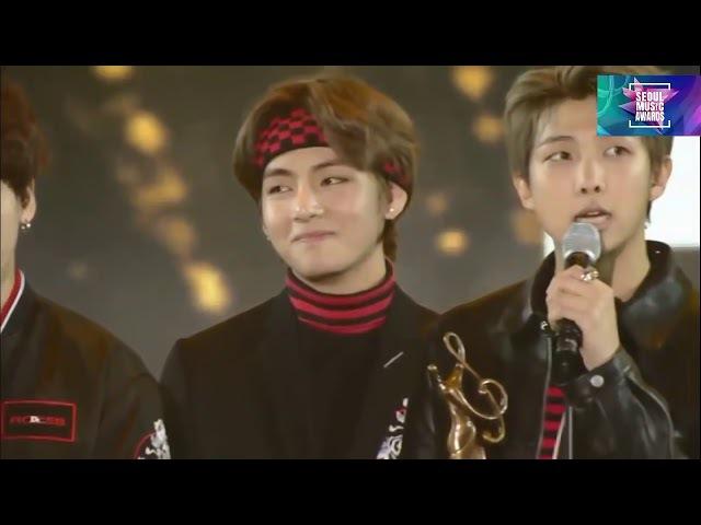 [ENG SUB] BTS Win Daesang Seoul Music Award 27th and Bonsang (방탄소년단) 防弾少年团