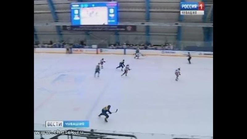 Чебоксарские хоккеисты не смогли удержать решающую победу в первом раунде плей-офф