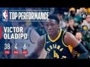 Victor Oladipo Scores 38 in OT Win Over Nets | December 23, 2017