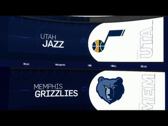 Utah Jazz @ Memphis Grizzlies - March 9, 2018 - Recap