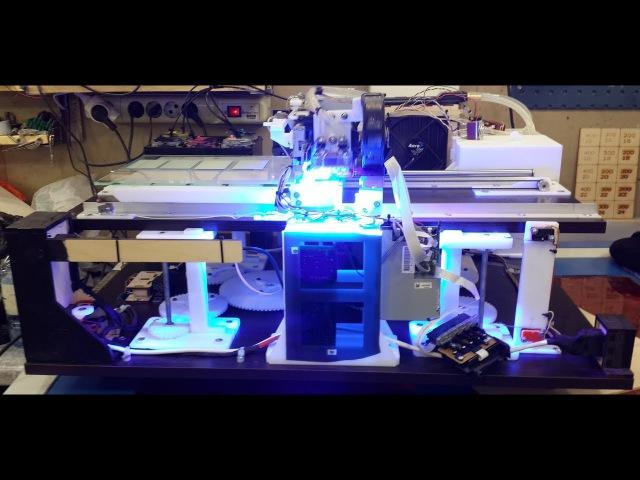 УФ принтер из EPSON L800805 (Часть 8) Принтер почти готов! Обзор узлов и механизмов, зап ...