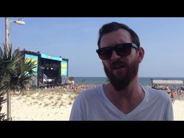 Tommy Putnam from Moon Taxi at Hangout Festival 2013