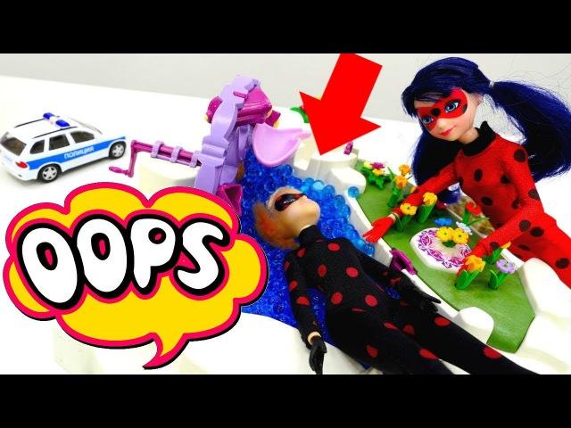 Miraculous LADYBUG vs Antibug. Marinette LEAVES SCHOOL! Kids toys Babie doll videos for kids