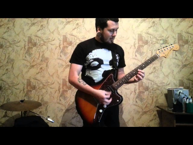 Polvo - Tragic Carpet Ride guitar cover