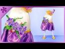 DIY How to make standing Easter egg, spring lady (ENG Subtitles) - Speed up 465