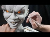 Sculpting Pennywise - Timelapse sculpt and Airbrush Demo