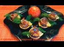 4 Вкусных закуски с сельдью - Праздничный стол Красивые рецепты - Украшения стола