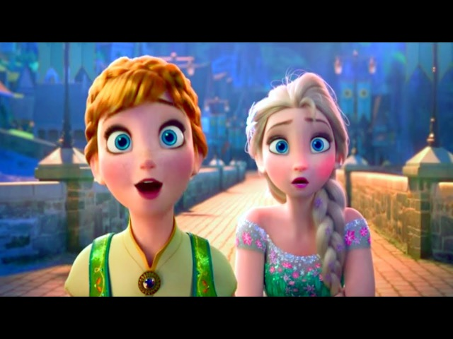 Холодное торжество Мультфильм Disney про принцесс