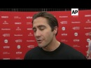 Jake Gyllenhaal talks women's march at premiere of Paul Dano's directorial debut 'Wildlife'