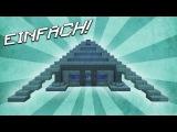 Wie baut man ein UNTERWASSER Haus - Minecraft Tutorial