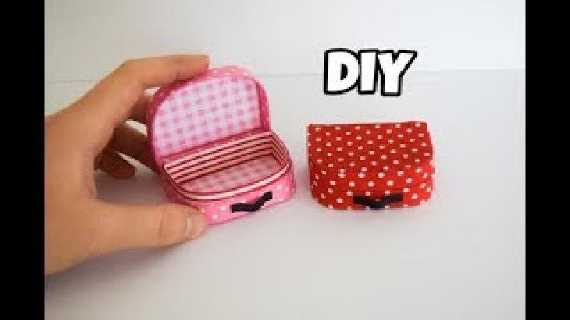 Mini Bavul Yapımı | Kendin Yap Barbie Çanta Yapımı