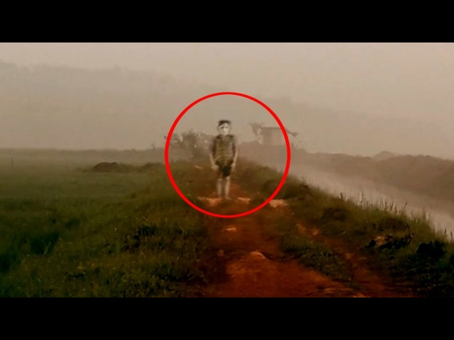 Paranormal Mysterious Ghost Encounter Caught On Camera From An Indian Cornfield! Real Ghost Video!