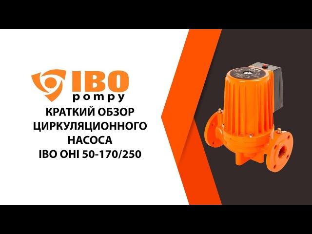 Циркуляционный насос IBO OHI 50-170250