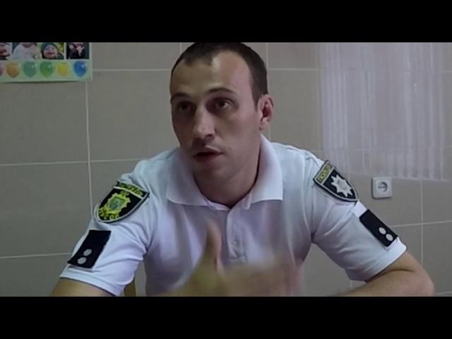 Патрульная полиция задержала начальника полиции в состоянии алко наркотического опьянения