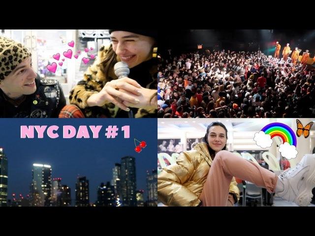 NYC DAY 1~ shopping seeing brockhampton