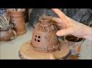 Декорирование колокольчика Хатка