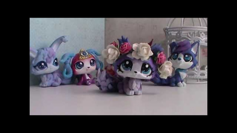 Мои сиреневые ООАК'и My lilac LPS custom is available for sale on Etsy!
