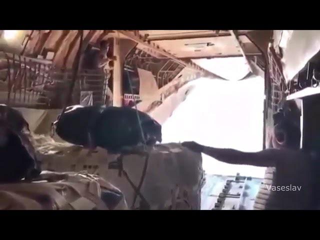 Сброс груза в Сирии Высший пилотаж