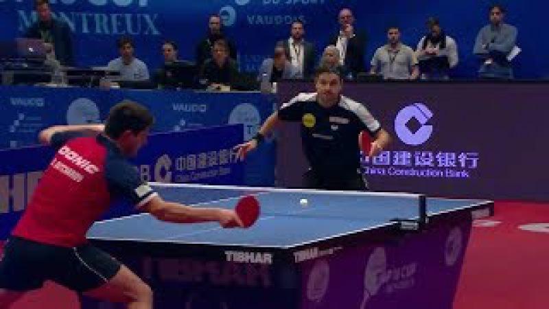 Dimitrij Ovtcharov vs Timo Boll (2018 - Europe Top 16) Final