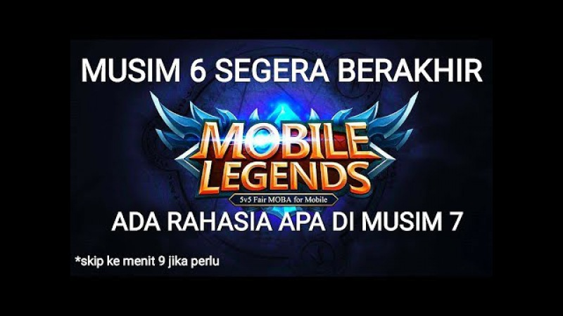 RAHASIA SEASON 7 - PLAYER WAJIB TAHU - MOBILE LEGENDS