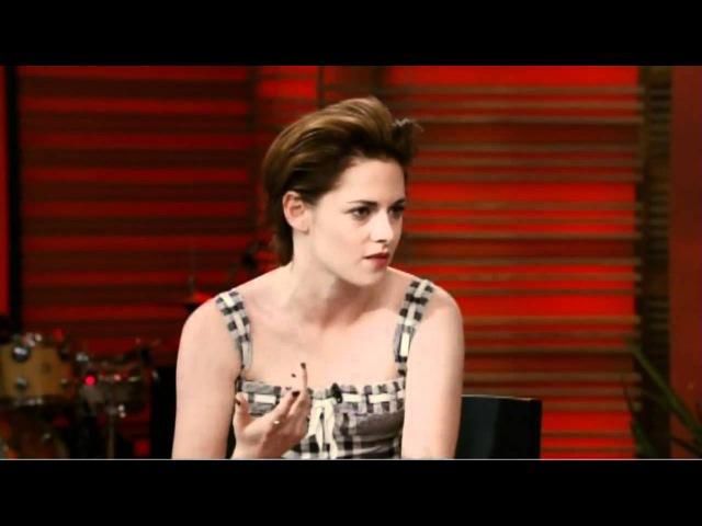 [HD] Kristen Stewart Interview On Live With Regis Kelly 10/19/2010