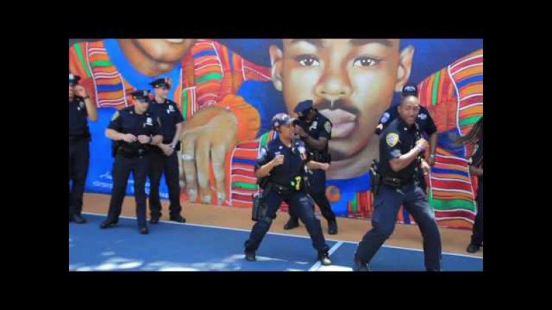 Mount Vernon Police Running Man Challange