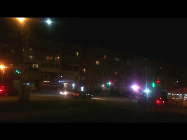 Шагол. Челябинск. Вечерний транспортный трафик. vk.com/shagolstreet