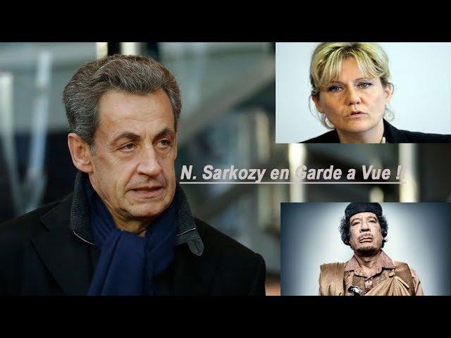 N. Sarkozy en Garde a Vue : Débat Trés Tendu avec N. Morano qui Pète un Plomb 20/03