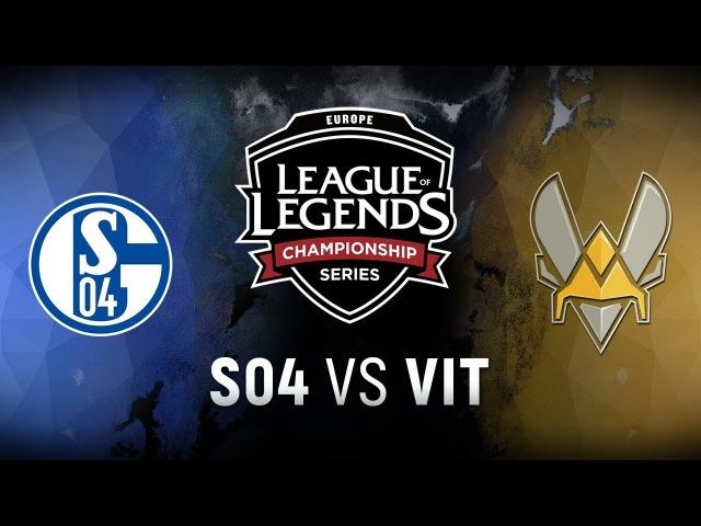 S04 vs. VIT - Week 3 Day 1   EU LCS Spring Split   FC Schalke 04 vs. Team Vitality (2018)