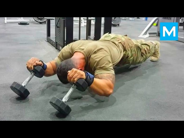 ARMY MONSTER - Super Soldier Diamond Ott   Muscle Madness