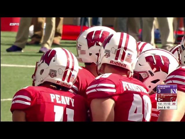 2017 NCAA Football Week 5 Northwestern at Wisconsin