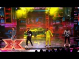 Rak-Su bring I'm Feeling You to the Live stage Live Shows The X Factor 2017