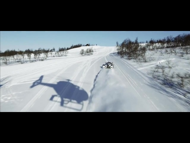 Supercar Drifting Uphill in Snow Jon Olsson's Rebellion R2K Team Betsafe