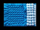 Pom pom blanket - Criss Cross turnover. Only around £4 to make. You can sell for £35 - $49