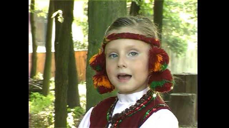 Я маленька Україночка-відеокліп Іринка Олійник(моя внучка)2008рік.