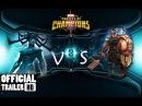 Hela vs Thor Ragnarok Spotlight Champions contest 2018