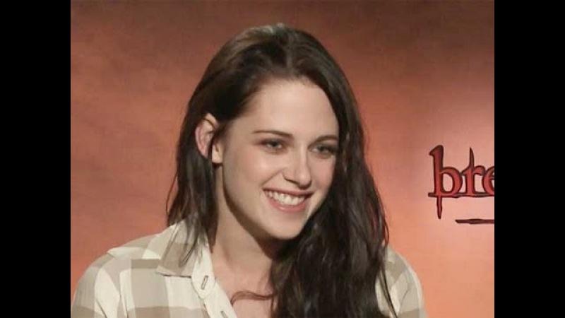 Kristen Stewart Junket Interview: Breaking Dawn Part 1
