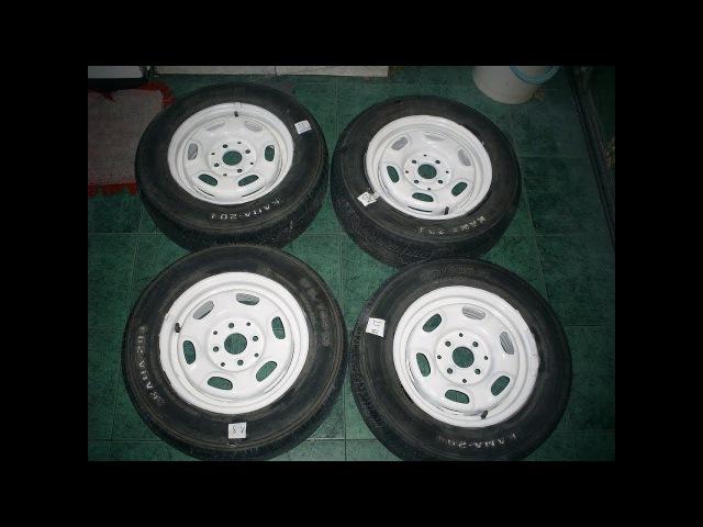 Соответствие размеров шин с параметрами дисков колёс на Mazda Demio