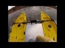 Teste Drive Caiaque Orca II Lontras Catamaran 8HP