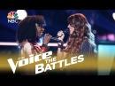 The Voice 2018 Battle Shana Halligan vs Christiana Danielle Use Somebody
