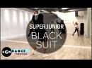 Super Junior Black Suit Dance Tutorial Chorus