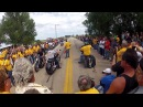 Wicked fast Supercharged 300HP Harley bagger vs. 600HP Boss Hoss street race