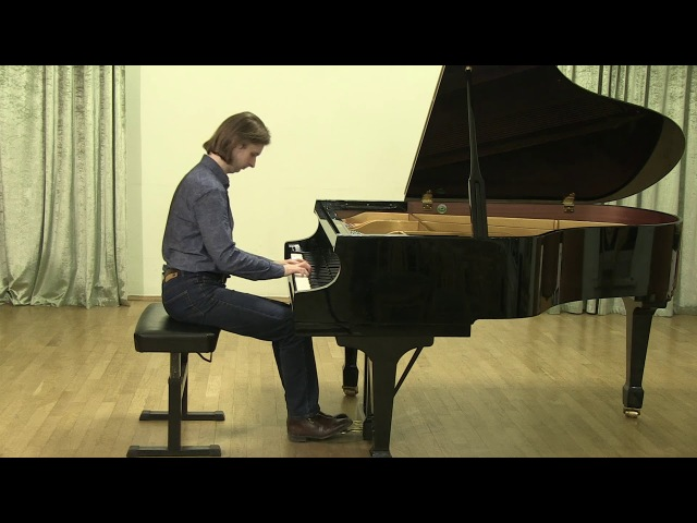 Aleksandr Kalinin plays Liszt Sposalizio from Annees de pelerinage