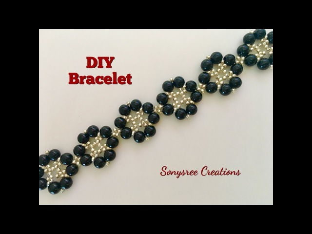 DIY Floral Bracelet 👍🏻